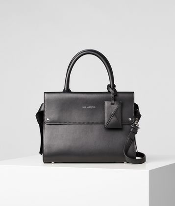 KARL LAGERFELD K/IKON MINI TOP HANDLE BAG