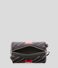 KARL LAGERFELD K/Stripe Ikonik Barrel Bag 9_f