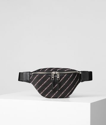 KARL LAGERFELD K/STRIPE BELT BAG