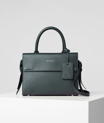 KARL LAGERFELD K/IKON MINI TOP-HANDLE BAG