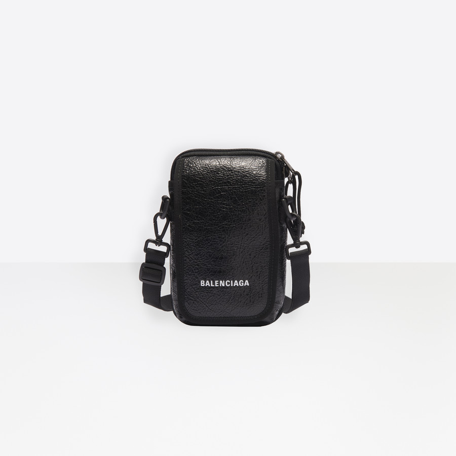 Explorer Crossbody Pouch Bag Black for