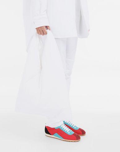 BAGS Japanese medium   padded bag White