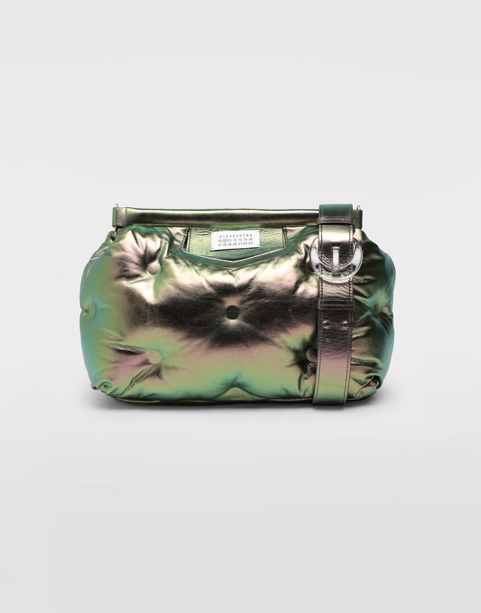 MAISON MARGIELA Glam Slam metallic medium clutch Shoulder bag Woman f