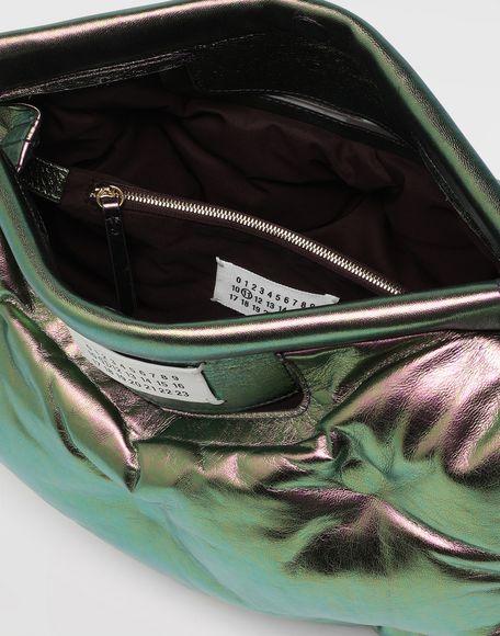 MAISON MARGIELA Glam Slam metallic medium clutch Shoulder bag Woman a