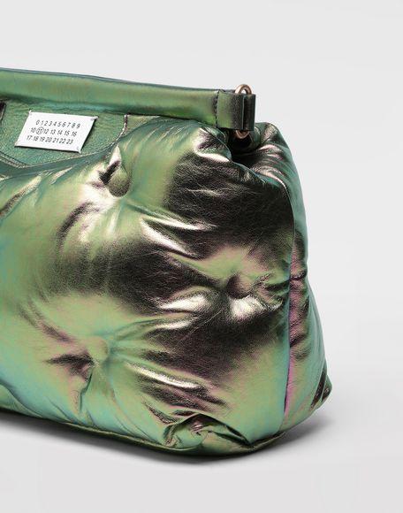 MAISON MARGIELA Glam Slam metallic medium clutch Shoulder bag Woman b