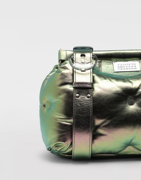 MAISON MARGIELA Glam Slam metallic medium clutch Shoulder bag Woman e