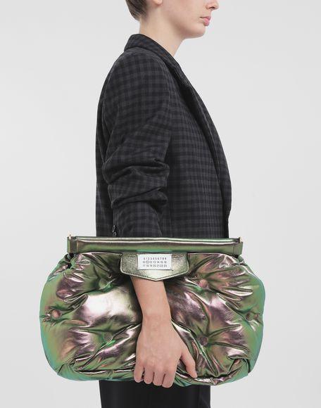 MAISON MARGIELA Glam Slam metallic medium clutch Shoulder bag Woman r