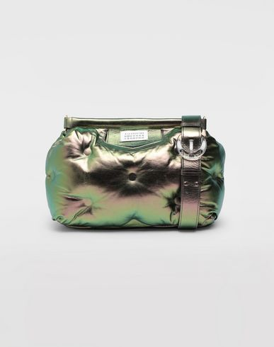 MAISON MARGIELA Glam Slam metallic medium clutch Shoulder bag Woman f