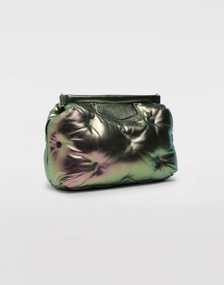MAISON MARGIELA Clutch Glam Slam media metallizzata Borsa a spalla Donna d