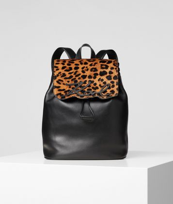KARL LAGERFELD K/SIGNATURE LEOPARD BACKPACK