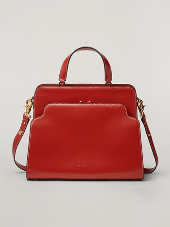 Marni TRUNK REVERSE handbag in nappa calfskin Woman f