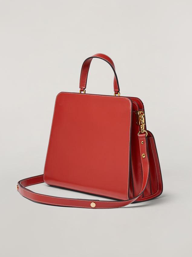 Marni TRUNK REVERSE handbag in nappa calfskin Woman