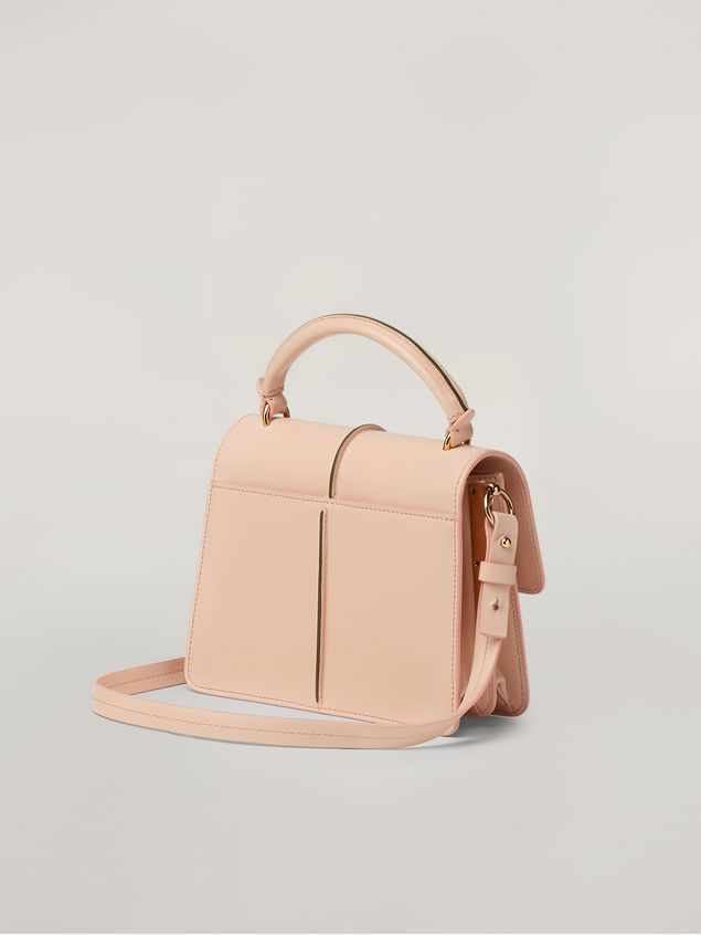 Marni ATTACHE' crossbody minibag in smooth calf pink Woman - 3