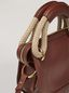 Marni BONNIE handbag in calf with leather and rope handle Woman - 4