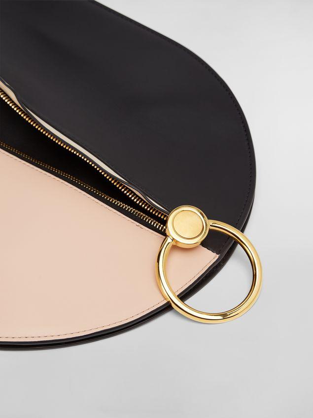 Marni Large EARRING hobo bag in smooth calfskin Woman - 5