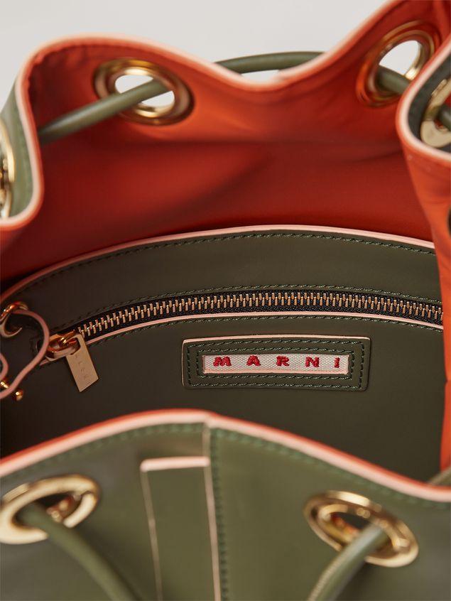 Marni EARRING bucket bag in smooth calfskin Woman - 5