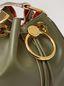 Marni EARRING bucket bag in smooth calfskin Woman - 4