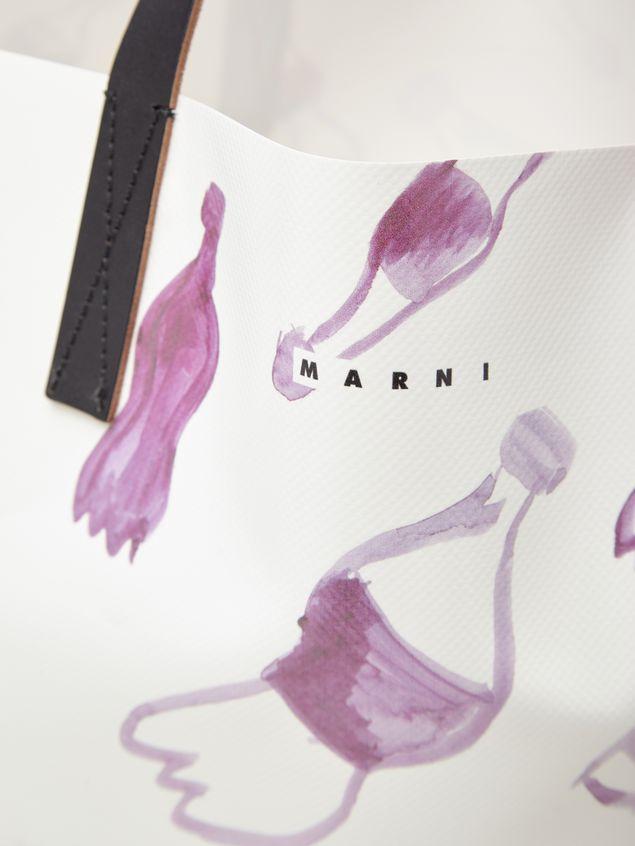 Marni Shopping bag in coated PVC Man - 5