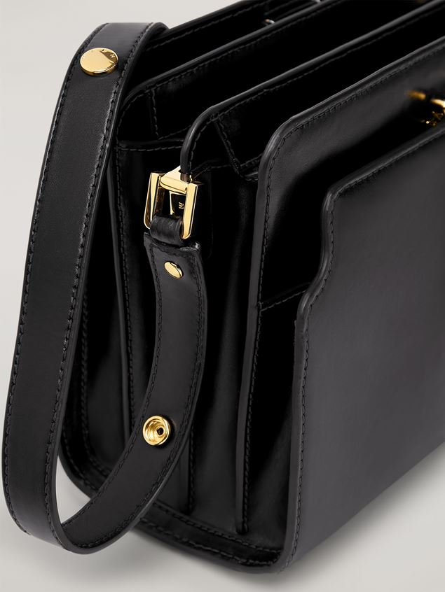 Marni TRUNK REVERSE shoulder bag in nappa calfskin black Woman - 5
