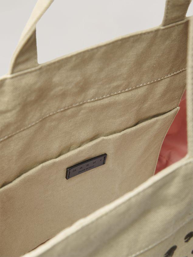 Marni Tasche HARLEM aus Canvas mit Jungle Liz-Print in Grün Damen - 5