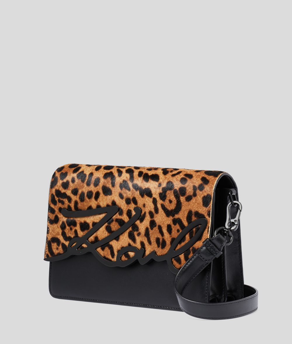KARL LAGERFELD K/Signature Leopard Shoulder Bag Shoulder bag Woman d