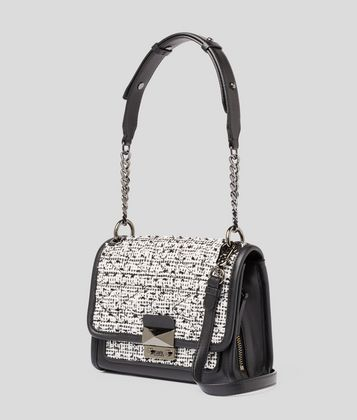 KARL LAGERFELD K/KUILTED SMALL SHOULDER BAG