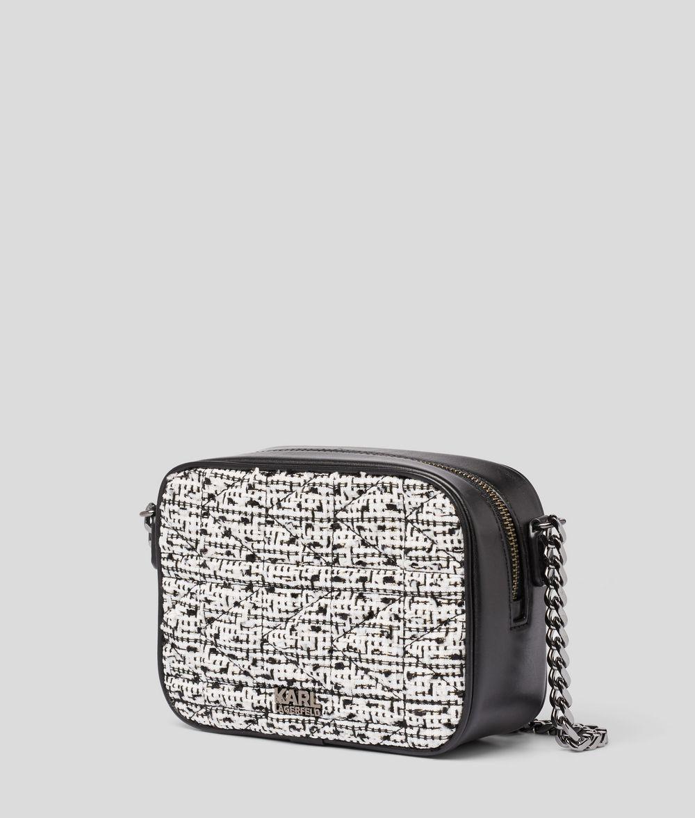 KARL LAGERFELD K/Kuilted Camera Bag Crossbody Bag Woman d