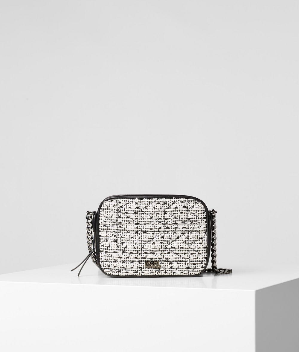 KARL LAGERFELD K/Kuilted Camera Bag Crossbody Bag Woman f