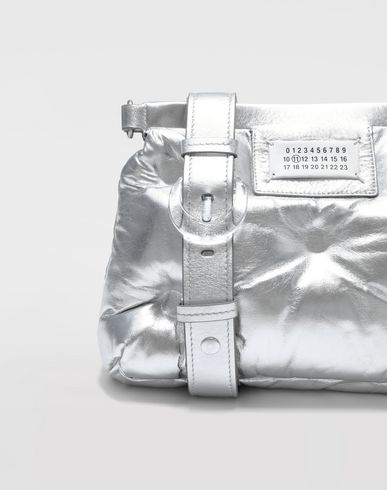 BAGS Small Glam Slam Bag Silver