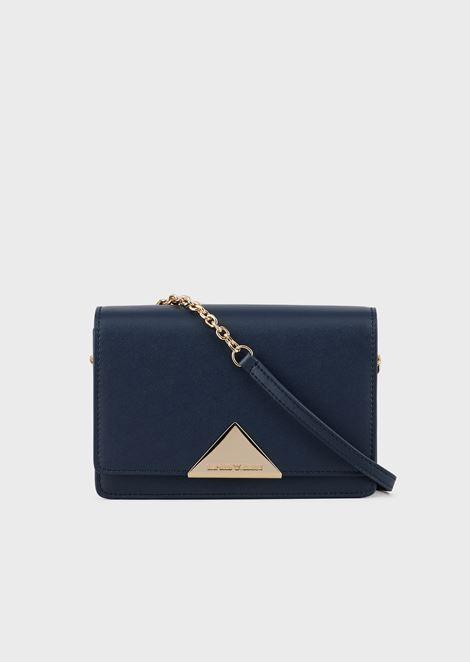 Vachetta leather shoulder bag