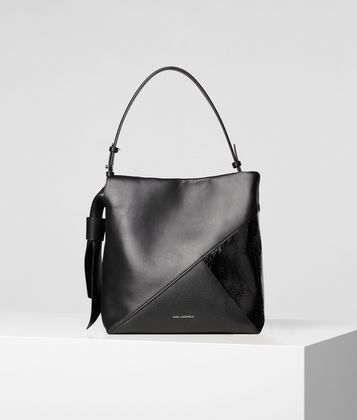 KARL LAGERFELD K/GEO HOBO BAG