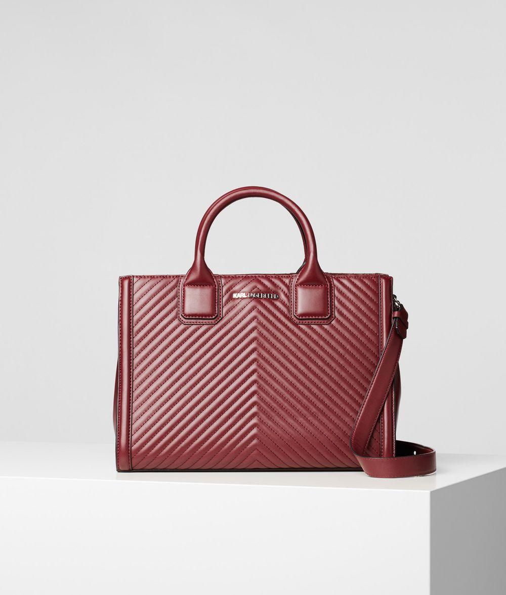KARL LAGERFELD K/Klassik Quilted Top Handle Bag Tote Woman f