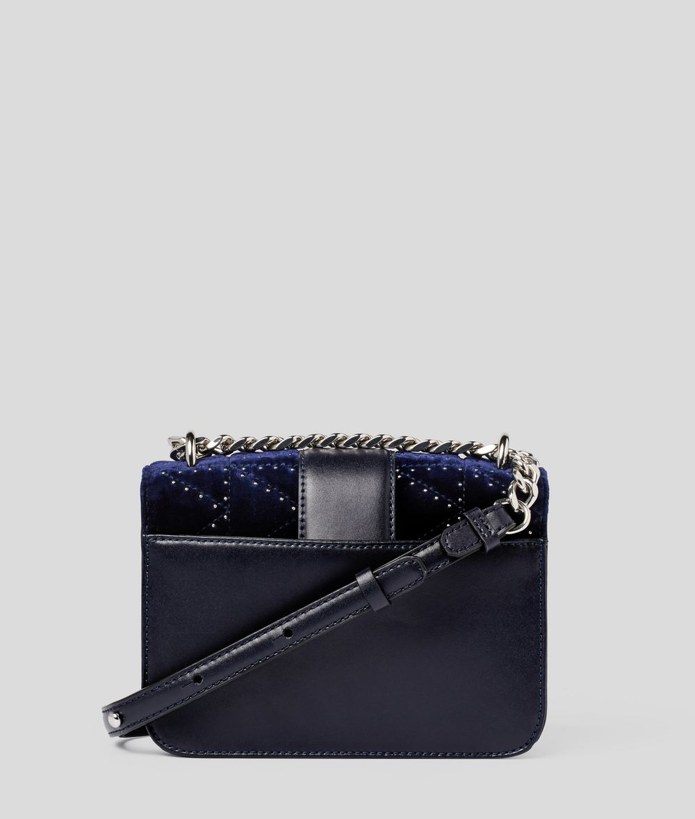 KARL LAGERFELD K/Kuilted Studs Camera Bag Crossbody Bag Woman d