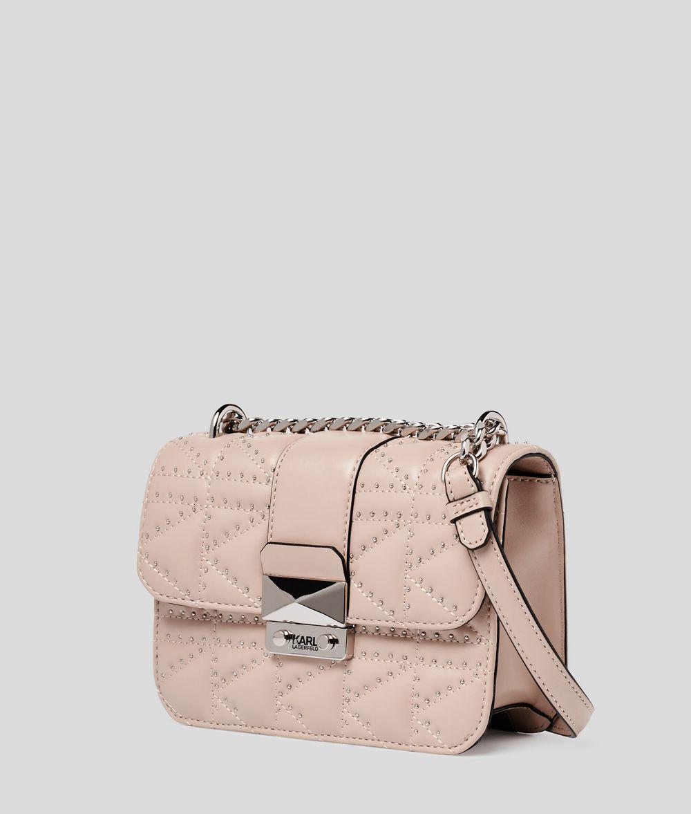 KARL LAGERFELD K/Kuilted Studs Crossbody Bag Crossbody Bag Woman d