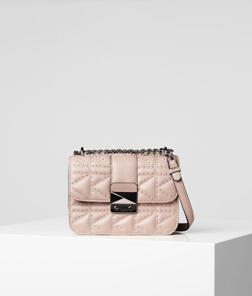 KARL LAGERFELD K/Kuilted Studs Crossbody Bag Crossbody Bag Woman f