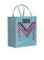 Marni Medium MARNI MARKET shopping bag in woven polypropylene with POP FOLK writing Man - 2