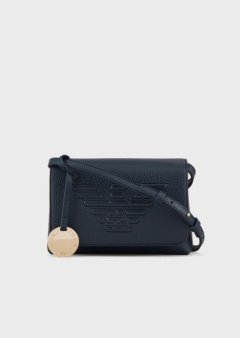 Mini shoulder bag with maxi logo