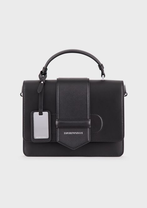 Vacchetta leather shoulder bag