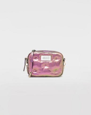 BAGS Glam Slam metallic micro bag Purple