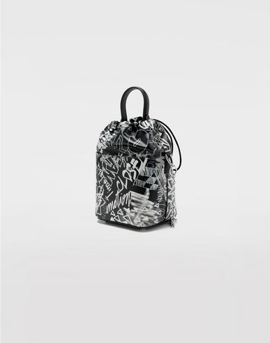 BAGS Graffiti 5AC bucket bag Black