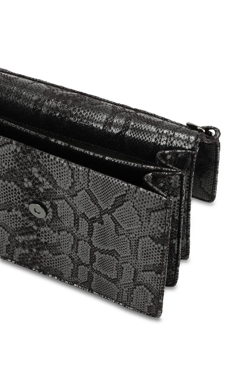 JUST CAVALLI Shoulder bag with snake buckle Crossbody Bag Woman a
