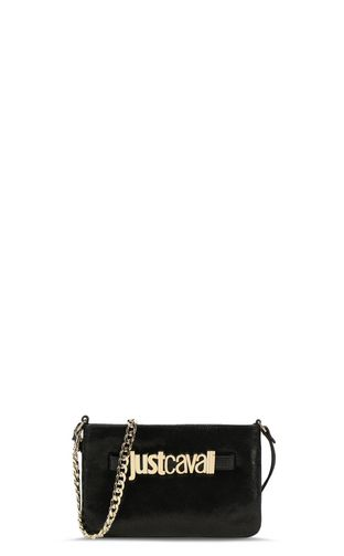 JUST CAVALLI Crossbody Bag Woman Shoulder bag with Just-Snake logo f