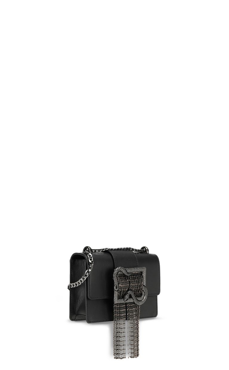 JUST CAVALLI Crossbody bag with snake buckle Crossbody Bag Woman r