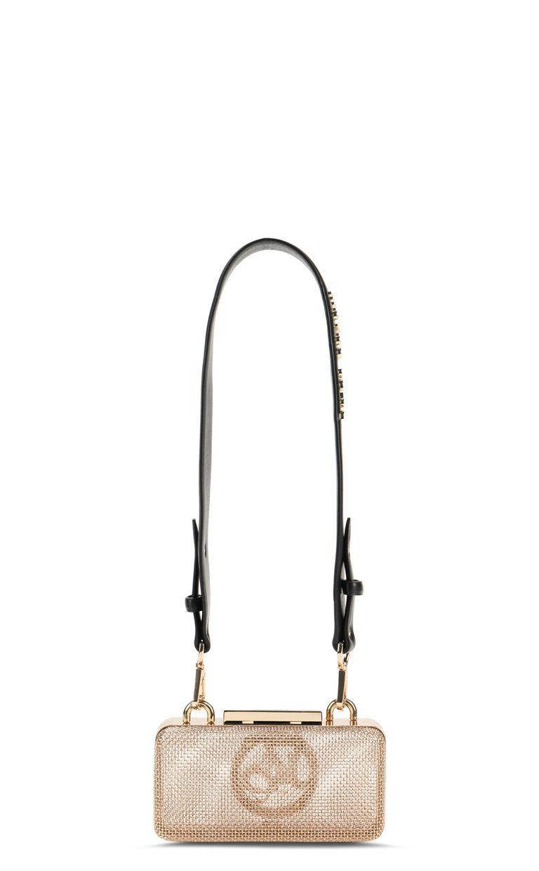 JUST CAVALLI Shoulder bag in gold-tone metal Crossbody Bag Woman e