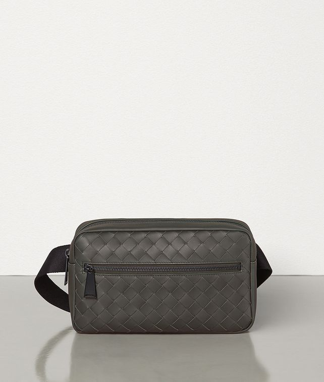 BOTTEGA VENETA BELT BAG IN INTRECCIATO VN Crossbody and Belt Bags Man fp