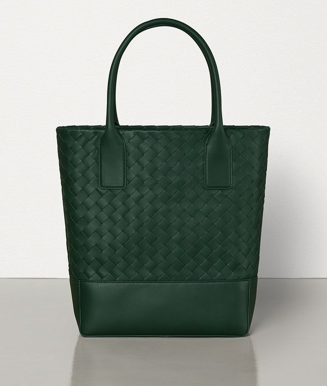 BOTTEGA VENETA MEDIUM TOTE IN INTRECCIATO VN Tote Bag Man fp