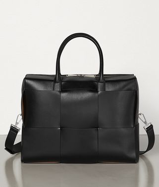 BRIEFCASE IN URBAN LEATHER CALF