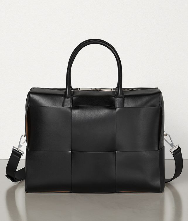 BOTTEGA VENETA BRIEFCASE IN URBAN LEATHER CALF Business bag Man fp