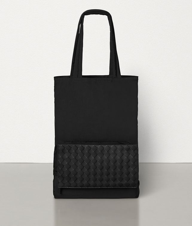 BOTTEGA VENETA TOTE IN LIGHT PAPER NYLON Tote Bag Man fp