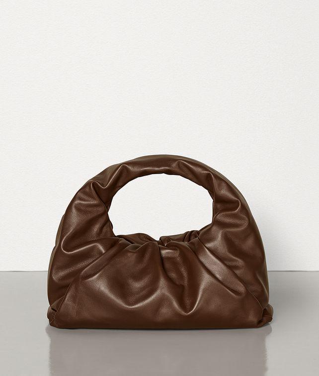 BOTTEGA VENETA THE SHOULDER POUCH IN CALFSKIN Shoulder Bag Woman fp